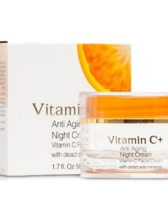 Anti-Aging Vitamin C Night Cream - Dead Sea Spa Cosmetics