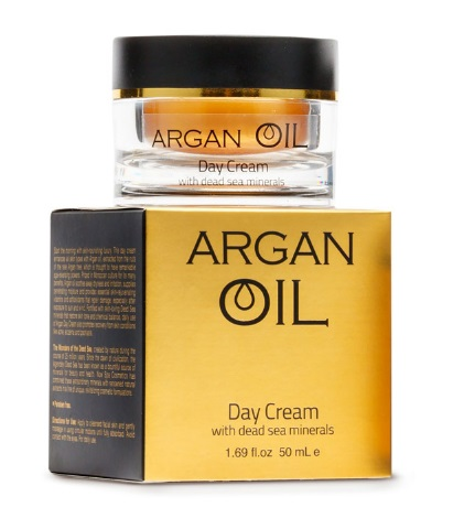 spa cosmetics original dead sea night cream 1.69 fl.oz. from israel Magnolia Orchid  5-ounce Advanced Brightening Lotion