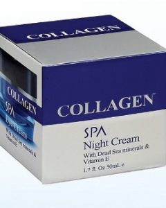 Dead Sea Collagen Night Cream - Dead Sea Spa Cosmetics