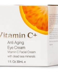 Dead Sea Anti-Aging Eye Cream with Vitamin C - Dead Sea Spa Cosmetics